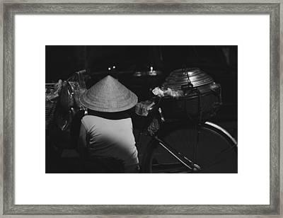 street life Sai Gon Framed Print