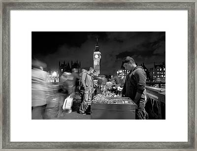 Framed Print featuring the photograph Street Nuts by Thomas Gaitley