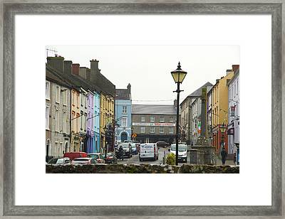 Streets Of Cahir Framed Print
