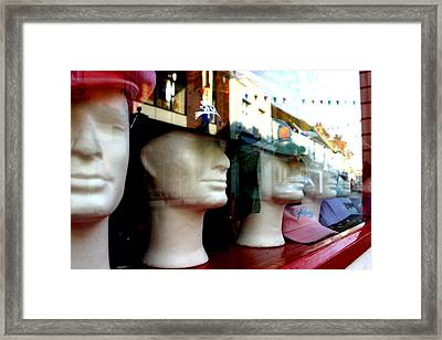 Street Party Without Us Framed Print by Jez C Self