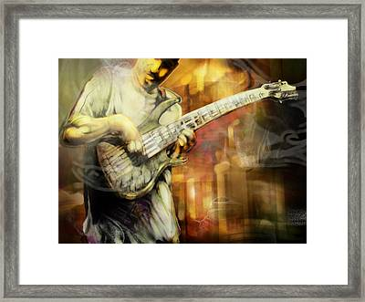 Street Performer Framed Print by Mike Massengale