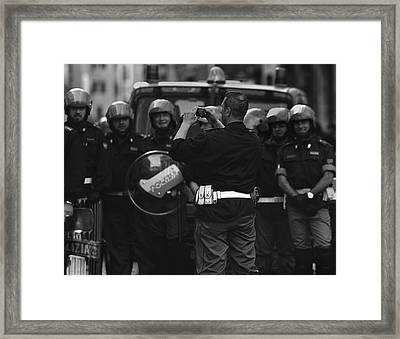 Street  Photographer Framed Print by Fulvio Pellegrini
