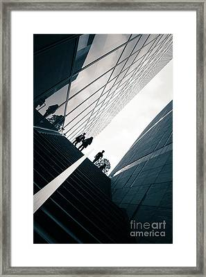 Street Photography Tokyo Framed Print by Jane Rix