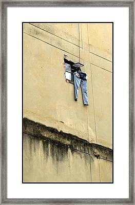 Street Portrait   120 Framed Print