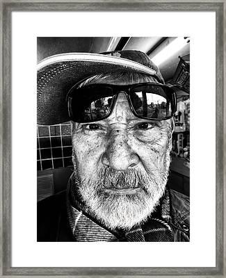 Street Portrait   190 Framed Print by Daniel Gomez