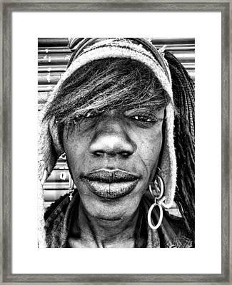 Street Portrait   211 Framed Print by Daniel Gomez