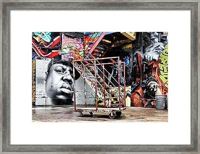Street Portraiture Framed Print