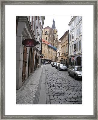 Street  Praha Framed Print by Yury Bashkin
