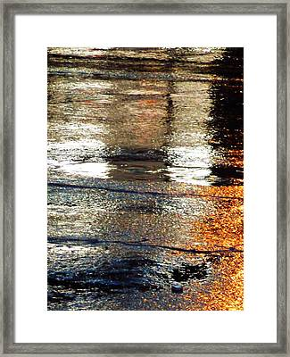 Street Reflections 2 Framed Print