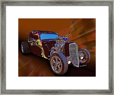 Street Rod What Is It Framed Print