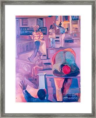 Street Scenes Framed Print