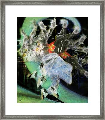 Street Warrior Framed Print