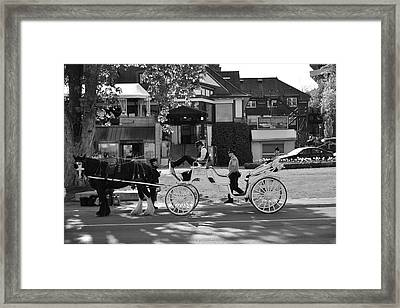 Street217 Framed Print by Sergei Dratchev