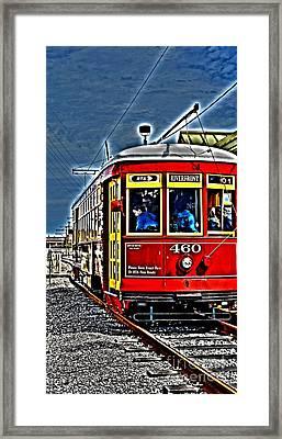 Streetcar Framed Print