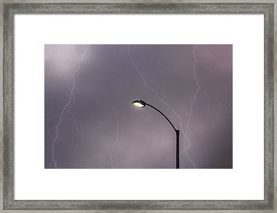 Streetlight Framed Print
