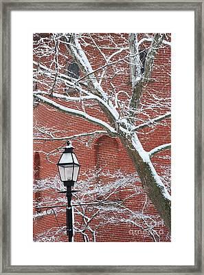 Streetlight Framed Print by Hideaki Sakurai