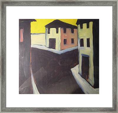 Streets Framed Print by Biagio Civale