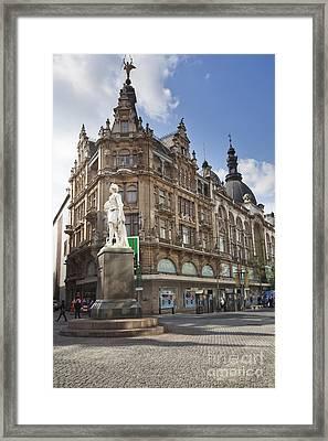 Streets Of Antwerpen Framed Print by Andre Goncalves