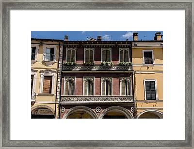 Streets Of Cesena 14 Framed Print