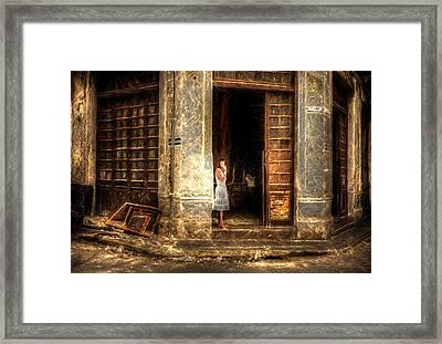 Streets Of Cuba Framed Print
