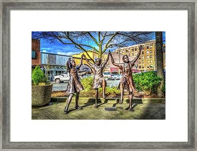 Framed Print featuring the photograph Streets Of Everett by Spencer McDonald