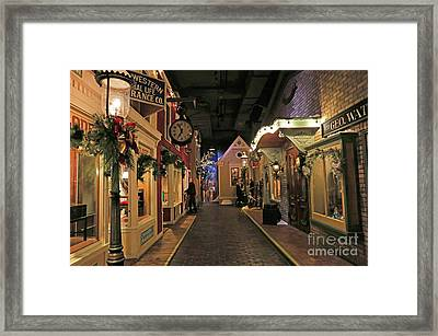 Streets Of Old Milwaukee Framed Print