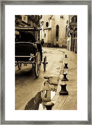 Streets Of Seville - San Esteban 2 Framed Print