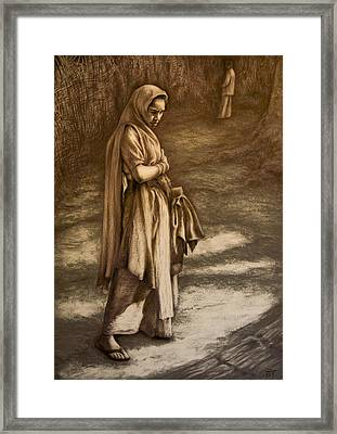 Streetseller Framed Print by Tim Thorpe