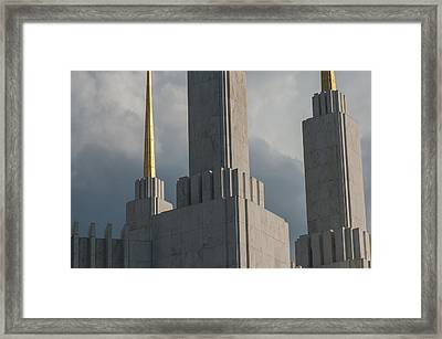 Strength And Power Framed Print