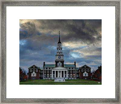 Strength In Turbulence - Cropped Framed Print