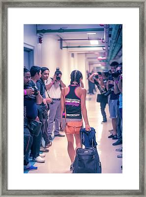Strength Is Beautiful Framed Print by Jijo George