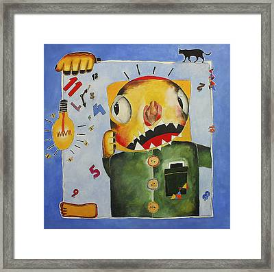 Stresse Framed Print by Odair Rangel
