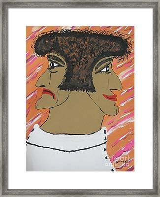Stressed Out Framed Print by Jeffrey Koss