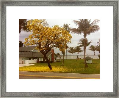 stressful retreat Photo Framed Print by Francis Roberts ll