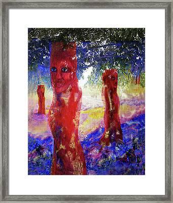 In The Silence Framed Print