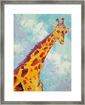 Framed Print featuring the painting Stretch by Chris Rice