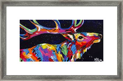 Stretch Framed Print by Tracy Miller
