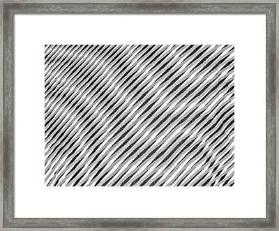 Striae. 12. Framed Print by Andy Za