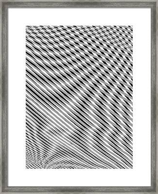 Striae. 15 Framed Print by Andy Za