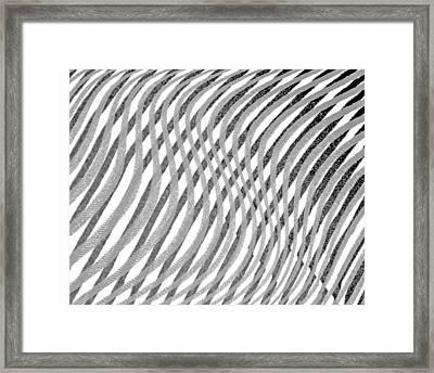 Striae. 23 Framed Print by Andy Za