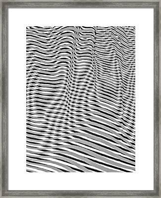 Striae. 26. Framed Print by Andy Za