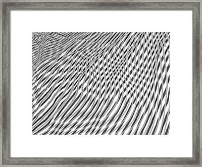 Striae. 44. Framed Print by Andy Za