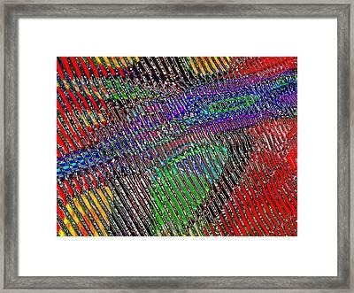Striae. Color. Framed Print by Andy Za