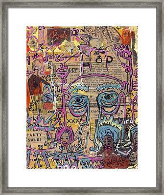 Strictly Commercial Framed Print by Robert Wolverton Jr