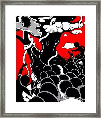 Strife Framed Print by Craig Tilley