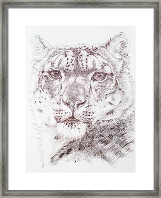 Striking Framed Print by Barbara Keith