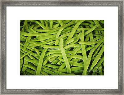String Bean Heaven Framed Print by Brandon Tabiolo - Printscapes