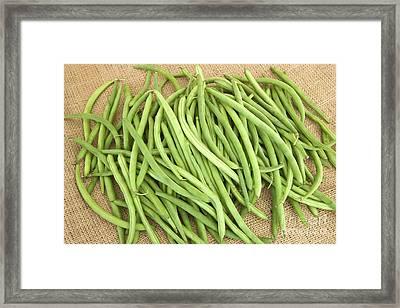 String Beans Framed Print by Inga Spence