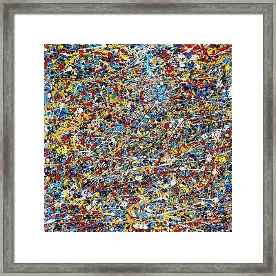 String Theory Framed Print by Dominic Piperata