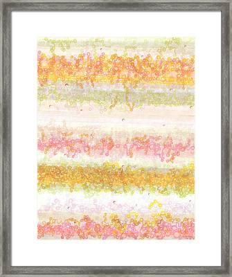 String Theory Framed Print by Regina Valluzzi